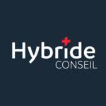 Hybride Conseil, agence de communication-de-perpignan, logo
