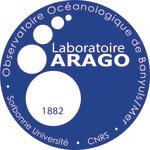 Logo de l'OOB de Banyuls-sur-Mer, CNRS, Sorbonne Université
